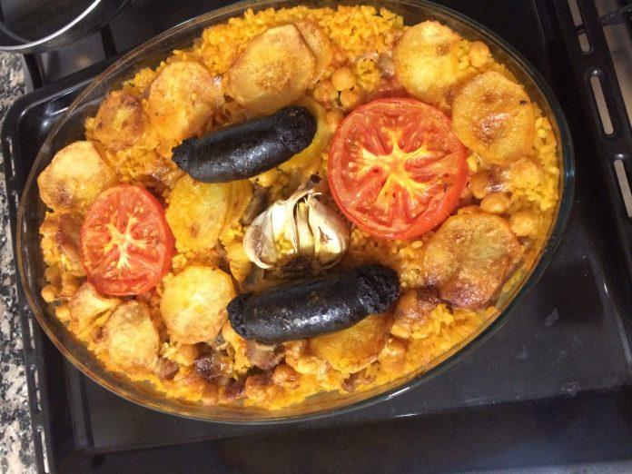 receta arroz al horno