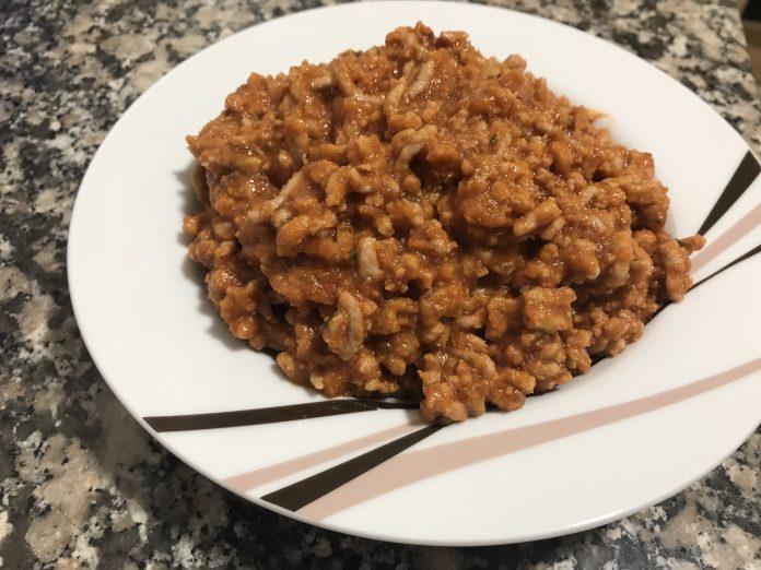 receta carne picada con tomate