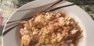receta ensalada de la tía Pepi
