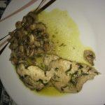 receta lomo con champiñones