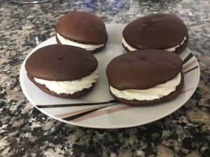 receta whoops de chocolate y nata 1