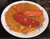 receta arroz con bogavante