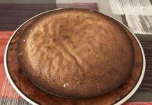 receta bizcocho de chocolate blanco