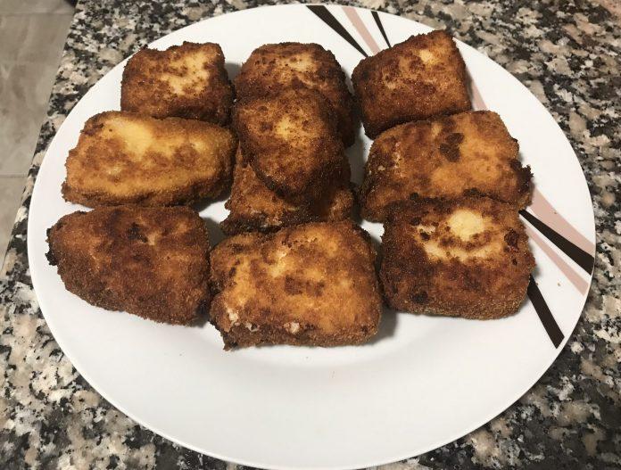 receta croquetas de jamón y queso