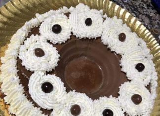 receta flan de chocolate