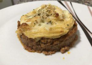 receta pastel de carne con puré de patatas