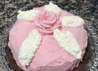 receta tarta galletas príncipe