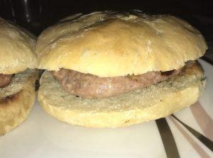 receta hamburguesas con molletes de Antequera