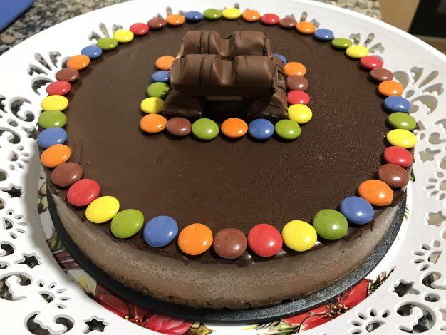 receta tarta Kinder bueno