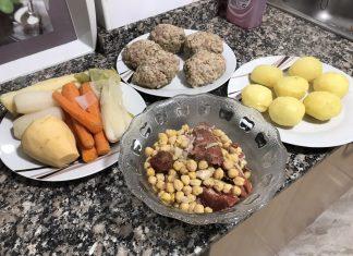 receta puchero casero y tradicional