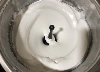 receta claras montadas en la thermomix