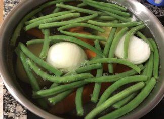 receta hervido de verduras