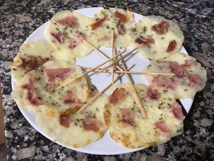 receta piruletas de queso y jamon
