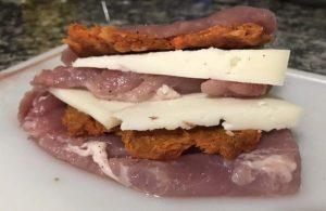 receta solomillo al varoma relleno de sobrasada y queso preparacion