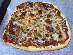 Deliciosa receta de pizza Angy con Thermomix