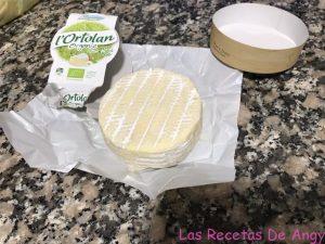 Receta del queso frito l'Ortolan