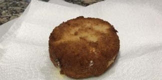 Receta de queso frito con mermelada
