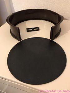 molde desmontable para recetas