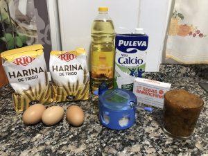 ingredientes para buñuelos