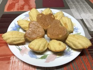 Madeleines o magdalenas con Thermomix