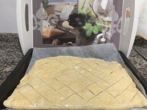 Aperitivo de torta de pan fabuloso con Thermomix.