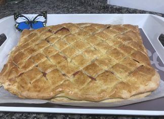 Receta deliciosa de torta de jamón y queso con Thermomix