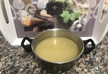 receta de caldo de cocido con Thermomix