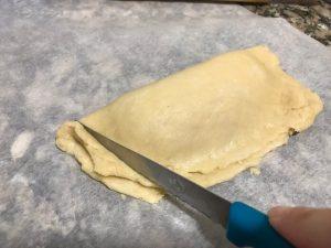 rellenado de empanadilla