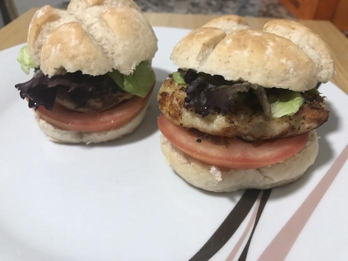Receta de hamburguesas de merluza y atún con Thermomix