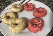 Receta de minidonuts de colores con Thermomix