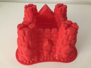 molde castillo para postres
