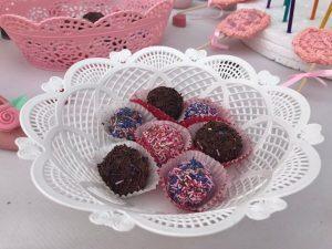Trufas de chocolate recetas