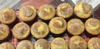 Receta de magdalenas de torta de lata con Thermomix