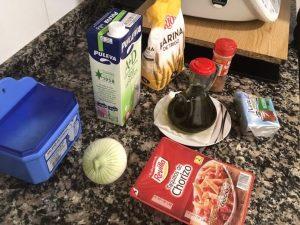 Receta de croquetas de chorizo ingredientes