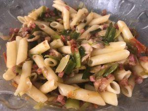 Ensalada de pasta con Thermomix