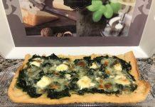 Torta de espinacas con Thermomix