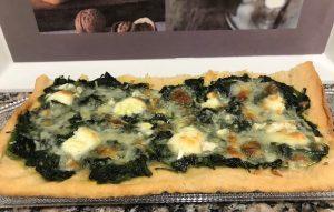 Torta de espinacas con queso con Thermomix