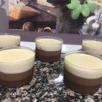 Tarta de tres chocolates con Thermomix