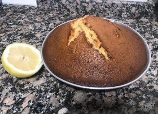 Bizcocho de limón con Thermomix