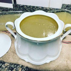 Fabulosa receta de caldo de cocido con Thermomix