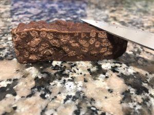 Turrón de chocolate crujiente con Thermomix