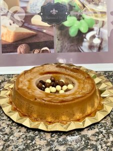 Flan de huesitos con Thermomix