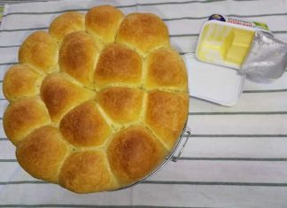 Pan de mantequilla con Thermomix