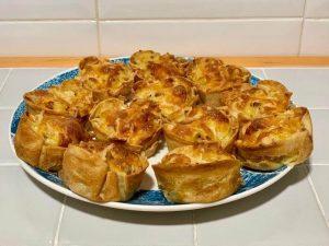 Receta de pastelitos de patata y jamón con Thermomix