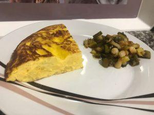 tortilla de patata y cebolla con Thermomix