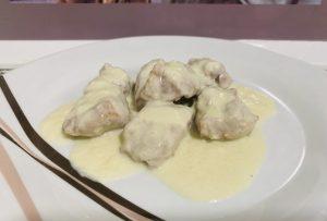 Solomillo en salsa roquefort