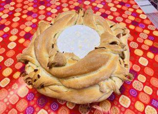 Pan de queso Camembert