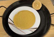 Receta de puré de paella valenciana con Thermomix