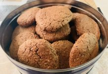 Galletas saludables de chocolate con Thermomix