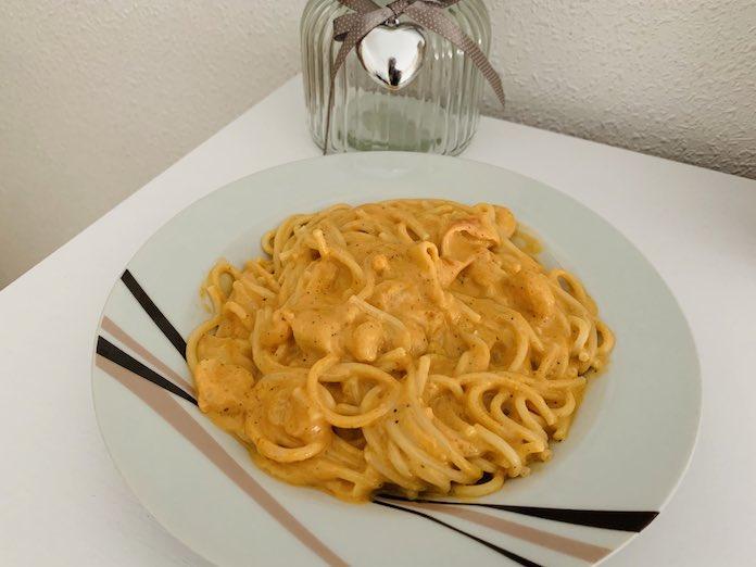 Receta de espaguetis frutti di mare